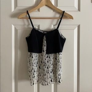 Silk tank from Anthropologie